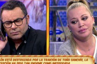 ¡Jorge Javier está más sólo que la una! Hasta Belén Esteban le rechaza por su rabia contra la Pantoja
