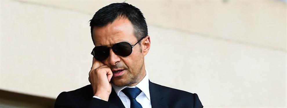 Jorge Mendes intenta colocar en el Barça a un descarte del Real Madrid