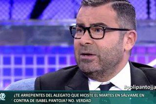Jorge Javier Vázquez recula y se traga todas sus amenazas a la Pantoja