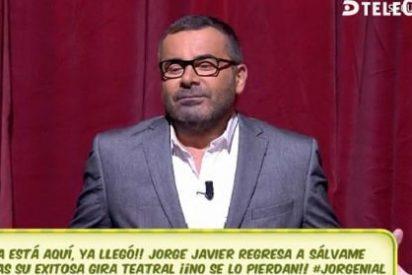 A Jorge Javier Vázquez le dicen que le pueden demandar y sale pitando del plató para... ¡mear!