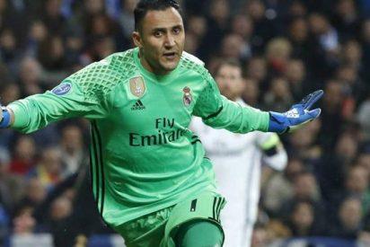 Keylor Navas negocia con un equipo italiano a espaldas del Real Madrid
