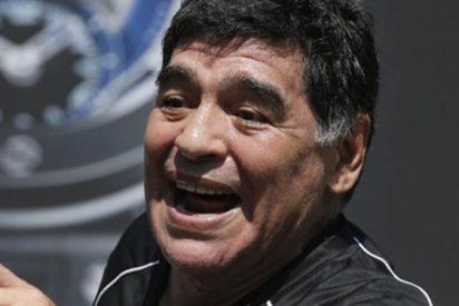 Siguen los líos de Maradona en Madrid: ahora la policía investiga una denuncia de agresión a su novia