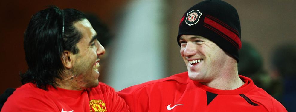 La durísima advertencia de Carlos Tévez a Wayne Rooney desde China