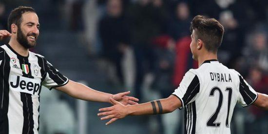 La Juve golea a Palermo con un gran Dybala y se prepara para la Champions