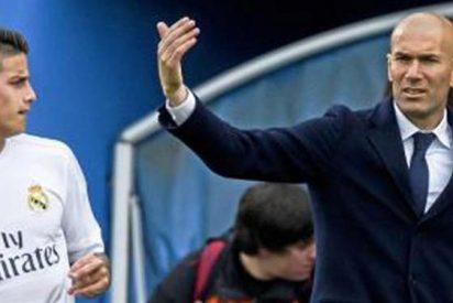 La 'rajada' más dura contra Zidane señala de lleno a James Rodríguez