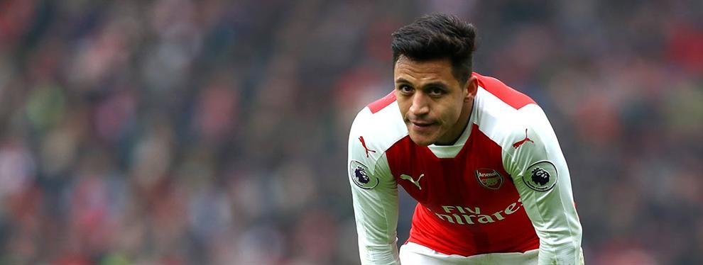 La reacción de Alexis Sánchez a la manifestación para sacarlo del Arsenal