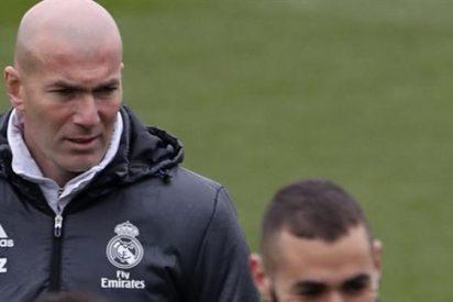 Las decisiones de Zidane tienen mosca a la plantilla del Madrid