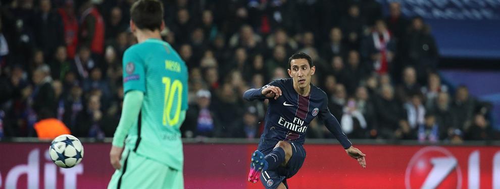 Leo Messi pide a Sampaoli el fichaje de Di María por el Barça