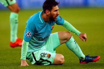 Leo Messi no pisó ni una vez el área rival en los 90 minutos del PSG-Barça