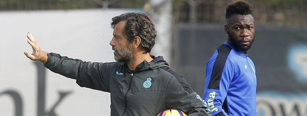 Lo que faltaba: El toque de atención a Caicedo (con ultimátum) en el Espanyol