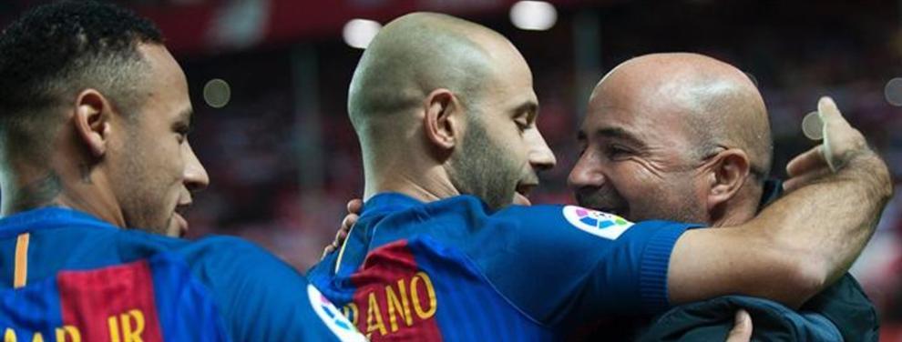 Los fichajes que Jorge Sampaoli (y Messi) quiere para el Barça