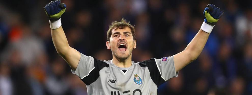 Los jugadores del Madrid que felicitaron a Casillas por su última exhibición