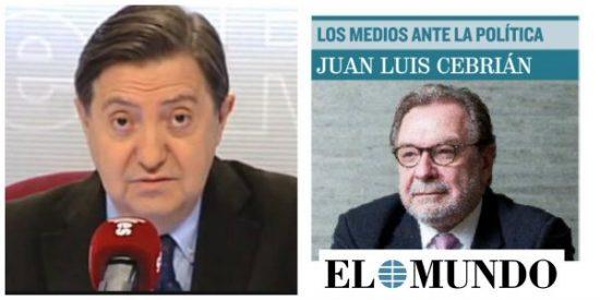 El Mundo se suicida con una amable entrevista a su archienemigo Juan Luis Cebrián