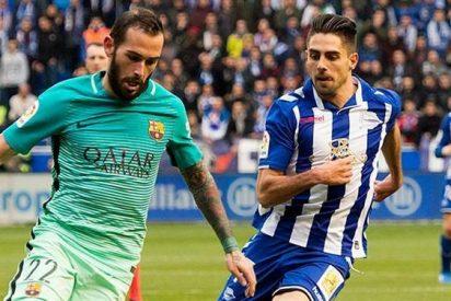 Luis Enrique elige al sustituto de Aleix Vidal en el Barça