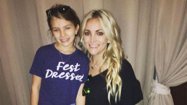 La sobrina de Britney Spears, crítica tras un accidente de tráfico junto a su padre