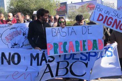 Huelga de firmas en el ABC para protestar contra los despidos y recortes