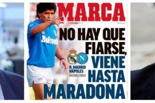 """Alfonso Ussía se encrespa al ver a Maradona en su 'Zalacaín': """"Es un violento, farsante y un tramposo"""""""
