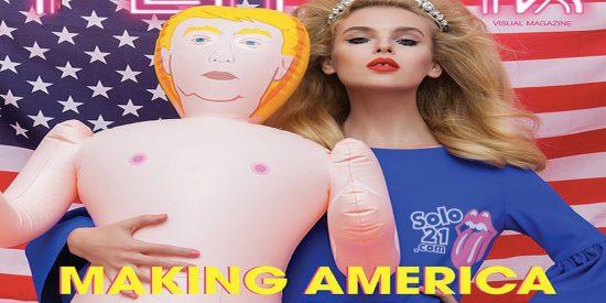 [VÍDEO] El cochino muñeco sexual de Trump que hace las delicias de los 'salidos'