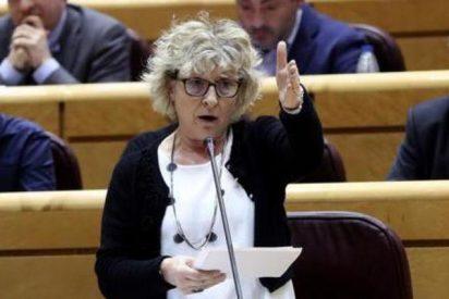 Mariano Rajoy se cachondea de una senadora de ERC antes de merendársela con butifarra
