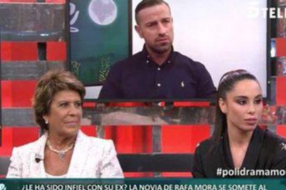 Cristaliza el drama del insustancial Rafa Mora: su exnovia le puso los cuernos