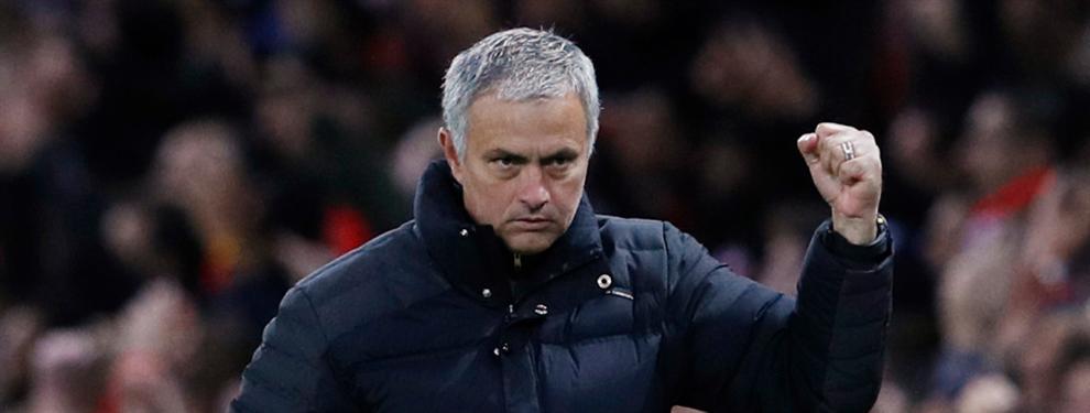 ¡Ojo! Mourinho ya ha empezado su partido ante el Chelsea fuera del césped