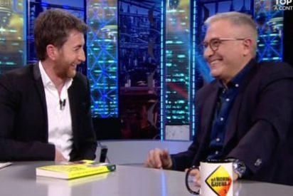 """Javier Sardá se harta de Pablo Motos en 'El Hormiguero': """"Lo que hay que hacer para vender libros"""""""