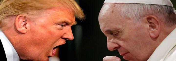 Trump podría reunirse con el Papa Francisco en mayo