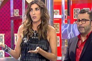 Jorge Javier sacude a Paz Padilla un feroz 'zasca' en vivo y en directo y abre la guerra en Telecinco