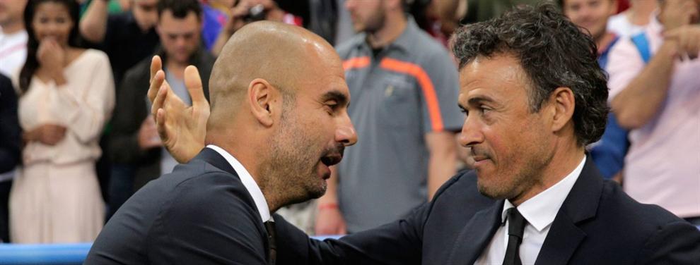 Pep Guardiola consigue dar donde más duele al Barcelona