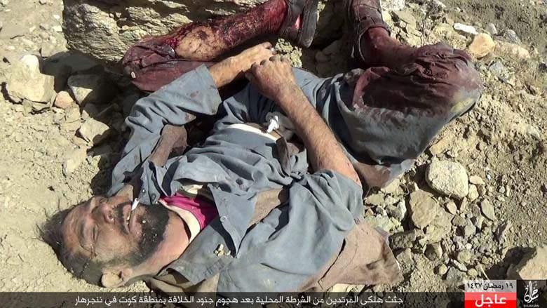 El atroz matadero iraquí donde apilan cadáveres de los yihadistas del ISIS