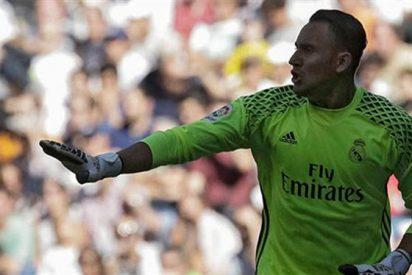 Preocupante: Keylor Navas se queda solo en Madrid (ojo al gesto de Zidane)