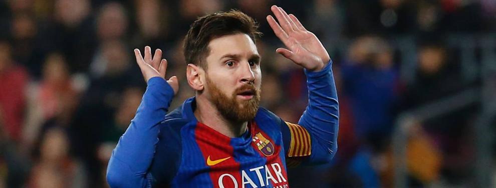 Presión: El Barça 'pasa' de Messi con dos operaciones en la sombra