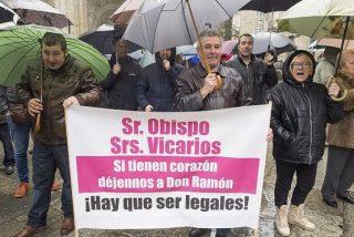 Vecinos de Friol, en huelga de misa, hasta que el obispo de Lugo los reciba