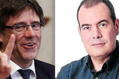"""Twitter le pinta la cara al victimista Puigdemont por decir que el ya exnarrador de GOL Merlos fue víctima de """"catalanofobia"""""""