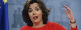 """Soraya Sáenz de Santamaría: """"La estabilidad política cotiza en bolsa y en España ha empezado a cotizar al alza"""""""