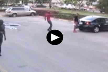 Brutal asesinato a quemarropa, frente a su novia y en unos aparcamientos