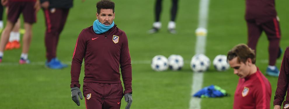 """Simeone: """"Nos vamos a encontrar con el mejor Bayer de esta temporada"""""""