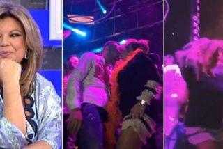Una Terelu Campos desbocada y sensual triunfa en la fiesta de la productora de 'Sálvame'