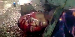 El robaperas al que matan a golpes y queman unos furibundos brasileños