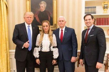 Trump se reúne con Lilian Tintori en la Casa Blanca y pide la liberación de Leopoldo López
