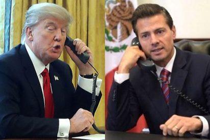 Así humilló y acojonó por teléfono un chulo Donald Trump al presidente mexicano