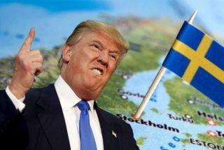 El follón internacional de Trump por inventarse un atentado en Suecia