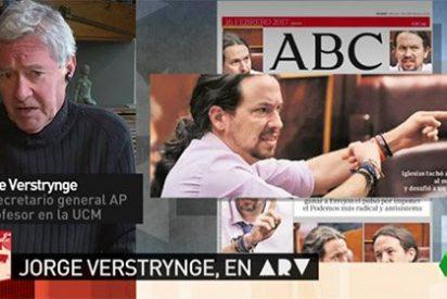 """Vomitona de Verstrynge contra el ABC: """"Es basura irreciclable"""""""