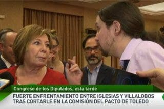 'Zasca Crush' Villalobos deja fuera de juego al listillo de Iglesias
