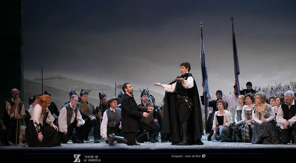 La Villana, ópera con todas las de la ley