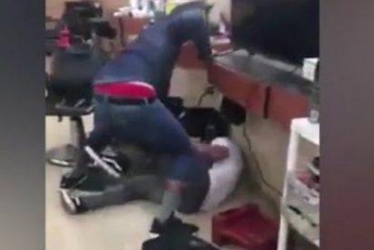 [VÍDEO] La bestial paliza del boxeador gay a un pijo que le tocaba las pelotas