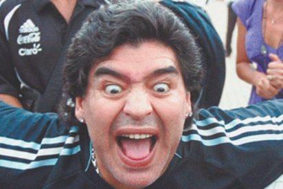 """Maradona a un periodista de la Cadena Cope: """"Si yo te pego mano a mano te estropeo"""""""