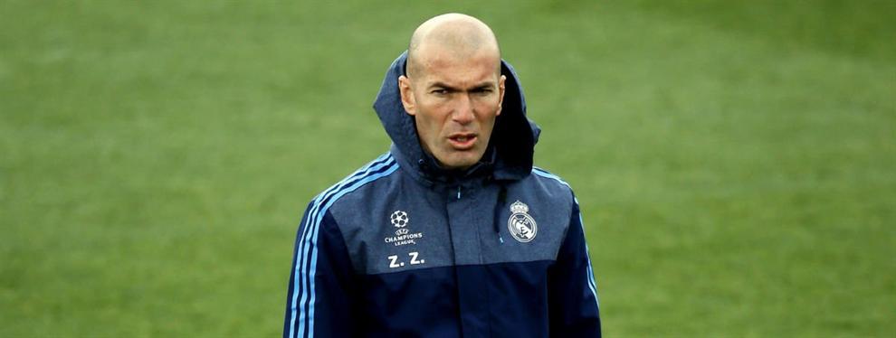 Zidane frena el fichaje de un crack francés por el Barça