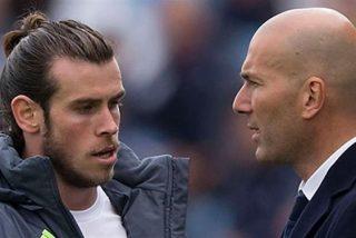 Zidane le para los pies a Gareth Bale (¡ojito a Cristiano Ronaldo!)