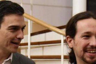 """Sánchez Dragó retrata la ideología de cartón piedra de Sánchez e Iglesias: """"Quieren estrechar la mano de Trump y picotear bullipolleces en Diverxo"""""""